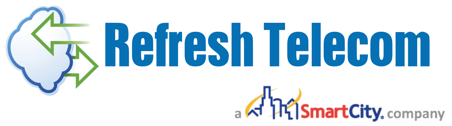 Refresh Telecom Smart City Metro Logo