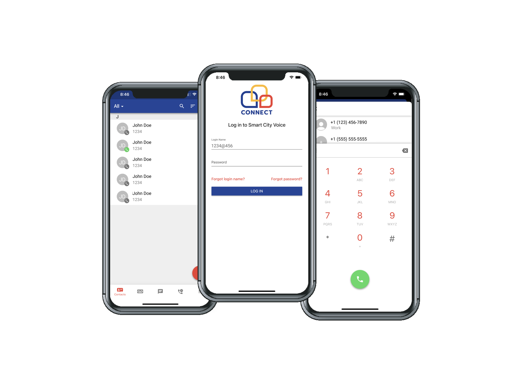 Netsapiens Mobile Screenshot
